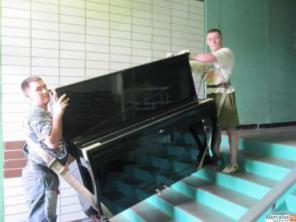 Грузчики, перевезем пианино