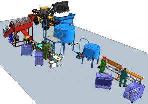 Комплект Проект и оборудование добычи и переработки сапропеля