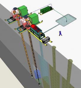 Роторно-гидравлическое оборудование добычи янтаря