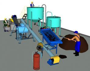 Бесцементная технология производства грунтоблоков на сапропеле