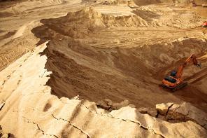 Песок строительный, карьерный ООО ЮГДК. Доставка