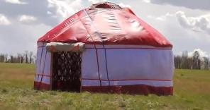 Юрта-гостевой дом, уютное мобильное жилище