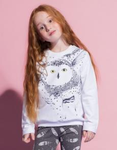 Джемпера и футболки для юных модниц
