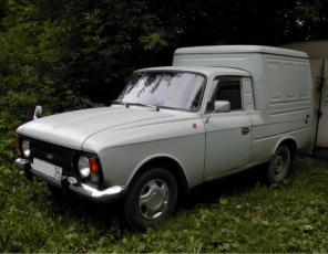 Перевозка мелких грузов Москвич каблук.