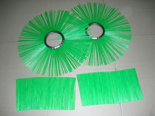 Станок спайки полипропиленового ворса дисковых щеток подметальных маши