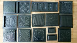 """Формы для 3D панелей и плитки """"ЛюксПластик""""."""