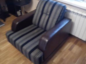 Перетяжка мягкой мебели на дому