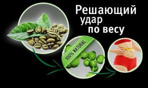Зеленый кофе для стройной фигуры.