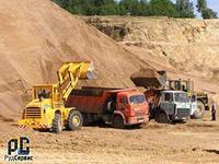 Песок щебень с доставкой по Рязани и области.