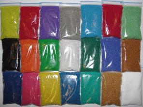 Цветной песок для творчества
