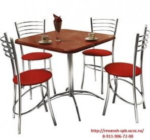Мебель для кафе, ресторанов, бистро и баров.