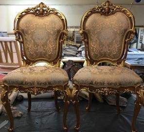 Ремонт. Реставрация стульев