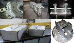 Услуги. Аргонная сварка алюминия и других металлов.