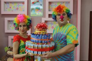 Детские праздники с весёлыми клоунами
