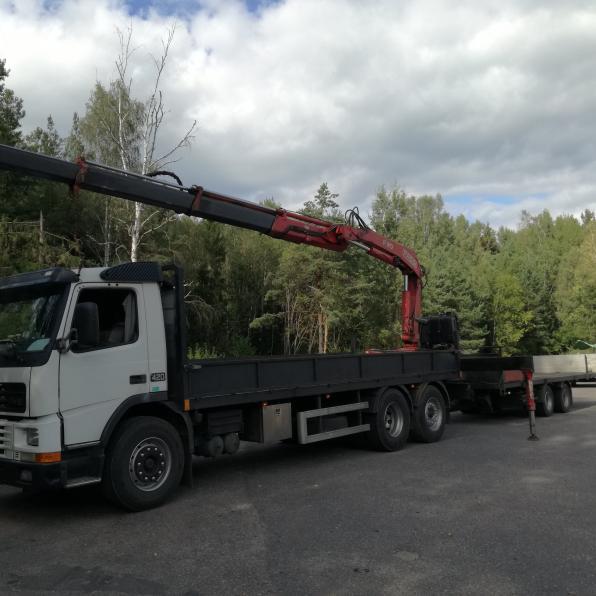 Услуги манипулятора до 12 (15) тонн жодино минск