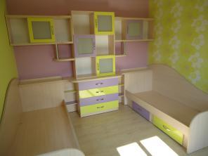 Детские комнаты, кровати под заказ.