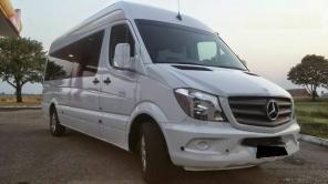 Пассажирские перевозки микроавтобусами от 8 до 20 мест
