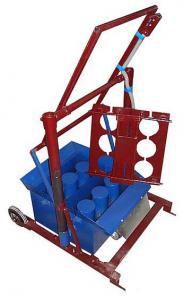 Станок шлакоблочный для производства строительных блоков