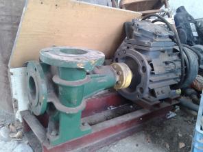 Электродвигатель асинхронный 3 фазный с водяной помпой; 5.5кВа