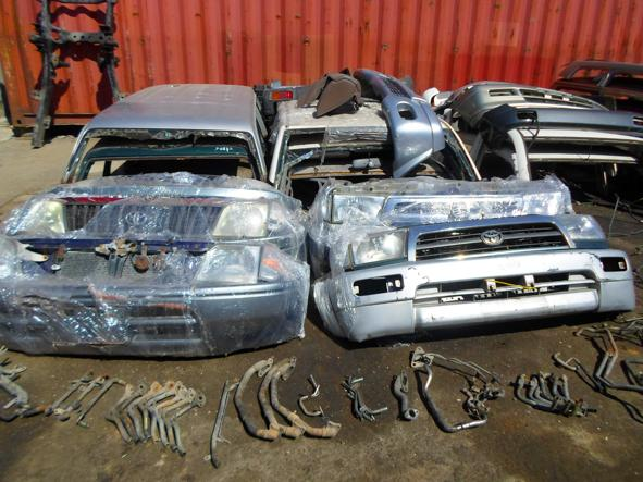 Автозапчасти Toyta LC Prado 150,  120,  95,  78 - Кузов Ходовая Салон
