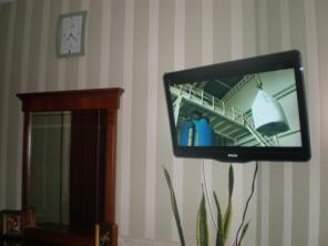 Установка навеска телевизора на стену.