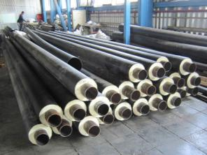 Труба и фасонные изделия в ППУ ПЭ и ОЦ