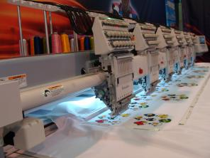 Вышивальные машины промышленные Tajima, Jack, SWF, Velles, Barudan, Br