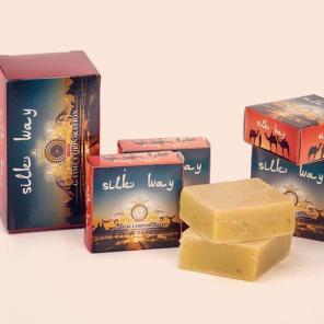 Шунгитовое лечебное мыло