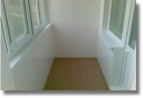 Внутренняя обшивка балконных перил (парапета). Низкие цены!