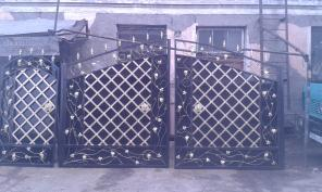 Художественная ковка, ворота, решетки, мазары, лавочки, навесы, заборы