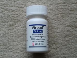 Продам Viread (Tenofovirdisoproxil)