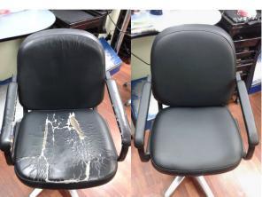 Ремонт реставрация кресла для офиса. парикмахеров. стоматологов и тд