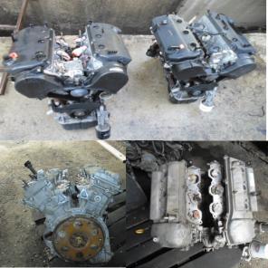Двигатель с коробкой 6G72,6G74,4M41 НА Mitsubishi Montero Sport