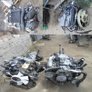 Двигатель НА Toyota L C Prado 120, 90.95,78, 71