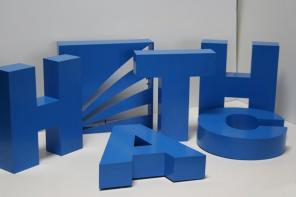 Рекламные объемные буквы