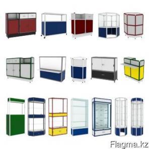 Торговые витрины и прилавки
