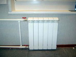 Замена радиаторных батарей отопления