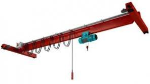 В продаже кран-балки опорные и подвесные с электротельферами. Монтаж.