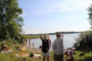 Продажа участка 50 соток на берегу озера от хозяина в Ленингр. области