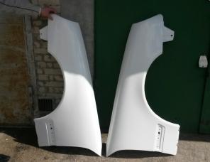 Крылья на мерседес w210,  стеклопластик