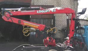 Продаю гидроманипулятор (погрузчик леса) Loglift