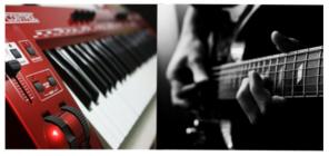 Обучение игре на гитаре, фортепиано, сентизаторе!