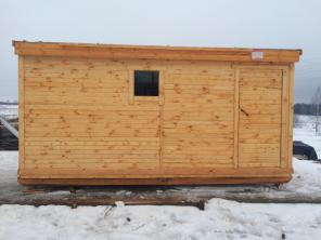 Бытовка деревянная 4 метра
