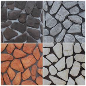 Декоративный - искусственный и природный облицовочный камень.