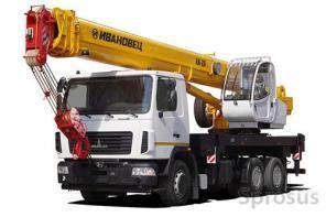 Аренда и Услуги Автокранов грузоподъемностью до 25 тонн в Подольске