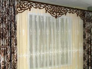 Пошив театральных штор, штор для любых помещений и окон.