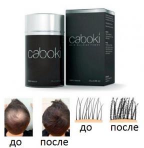 Купить Пудра Загуститель волос Caboki. Доставка по России
