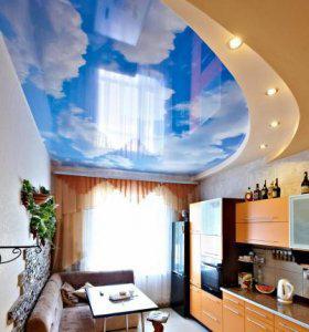 Натяжные потолки с фотопечатью в Москве, Одинцово, Звенигороде, МО