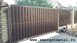 Заборы, ворота, навесы и изделия для сада