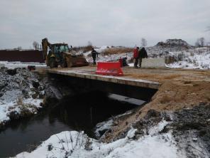 Построим автомобильный (автодорожный мост) до 100м
